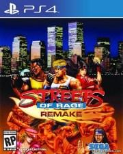 Streets of Rage Remake PS4 PKG