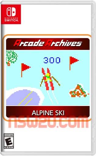 Arcade Archives ALPINE SKI Switch NSP XCI