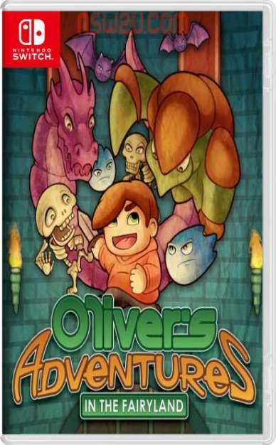 Oliver s Adventures in the Fairyland Switch NSP XCI NSZ
