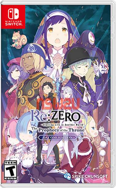 Re ZERO -Starting Life in Another World- The Prophecy of the Throne Switch NSP XCI NSZ