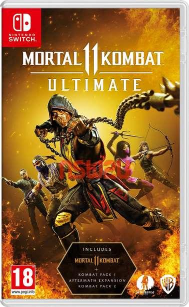 Mortal Kombat 11 Ultimate + Update + All DLC Switch NSP XCI NSZ
