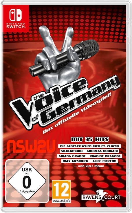 The Voice of Germany - Das offizielle Videospiel Switch nsp xci nsz