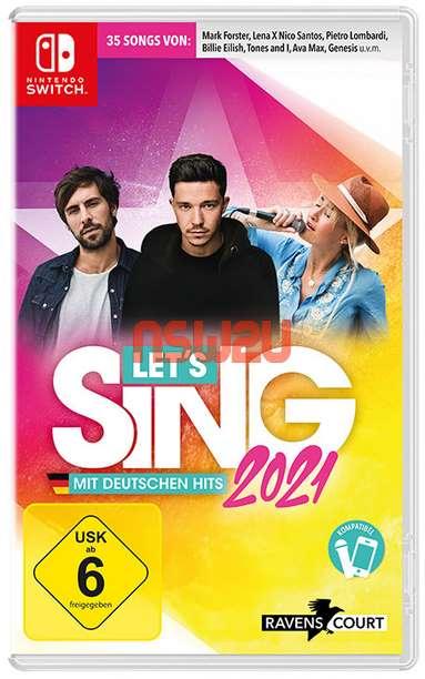 Let s Sing 2021 mit deutschen Hits Switch NSP XCI NSZ