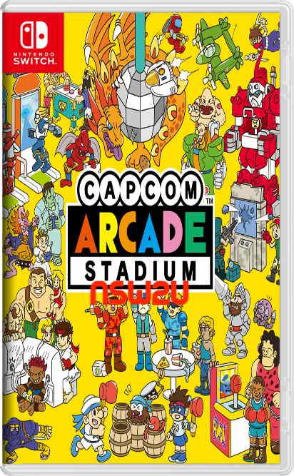 Capcom Arcade Stadium Switch NSP XCI NSZ