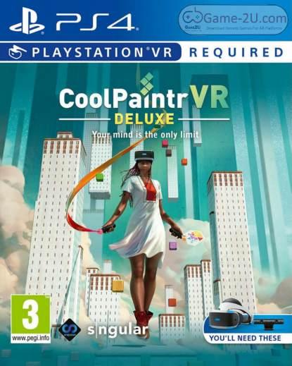 CoolPaintrVR Deluxe Edition PS4 PKG