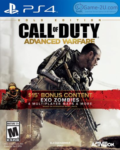 Call of Duty Advanced Warfare Gold Edition PS4 PKG