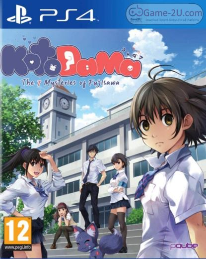 Kotodama The 7 Mysteries of Fujisawa PS4 PKG