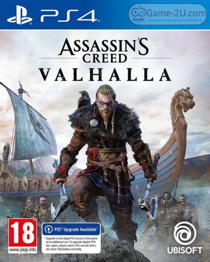 Assassins Creed Valhalla PS4 PKG
