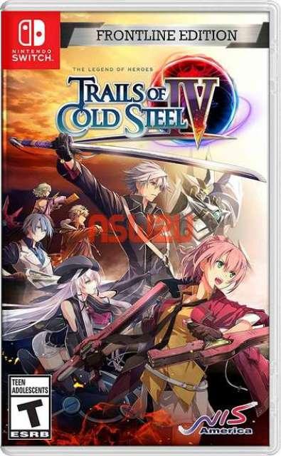The Legend of Heroes Trails of Cold Steel IV Sen no Kiseki IV ~The End Of Saga Switch NSP XCI