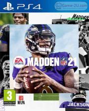 Madden NFL 21 PS4 PKG