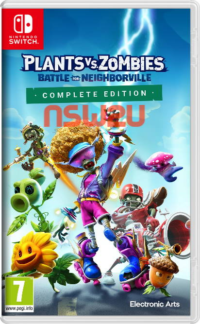 Plants vs. Zombies Battle for Neighborville Complete Edition Switch NSP XCI NSZ
