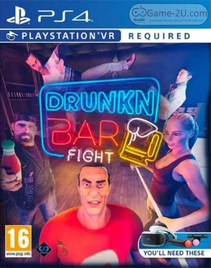 Drunkn Bar Fight VR PS4 PKG