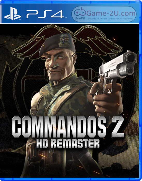 Commandos 2 - HD Remaster PS4 PKG
