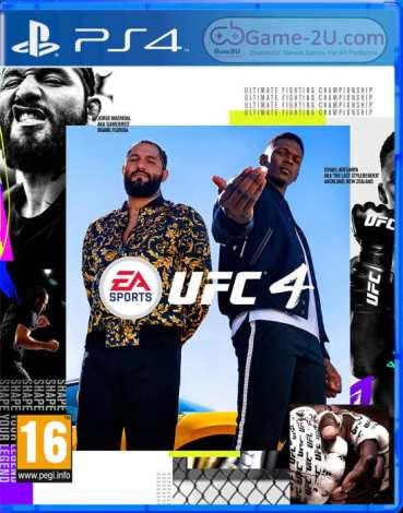UFC 4 PS4 PKG