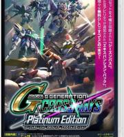 SD Gundam G Generation Cross Rays Platinum Edition Switch NSP XCI