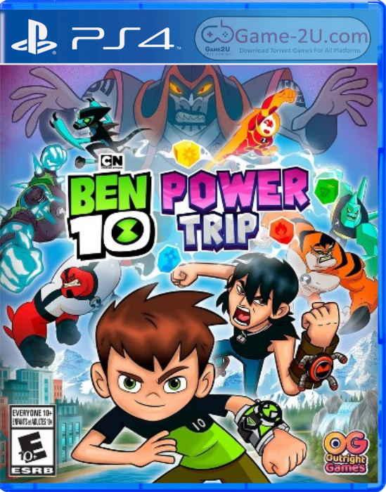 Ben 10 Power Trip PS4 PKG