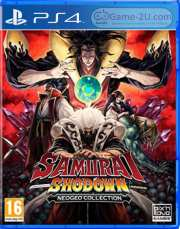 SAMURAI SHODOWN NEOGEO COLLECTION PS4 PKG