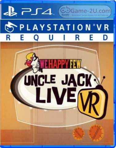 We Happy Few Uncle Jack Live VR PS4 PKG