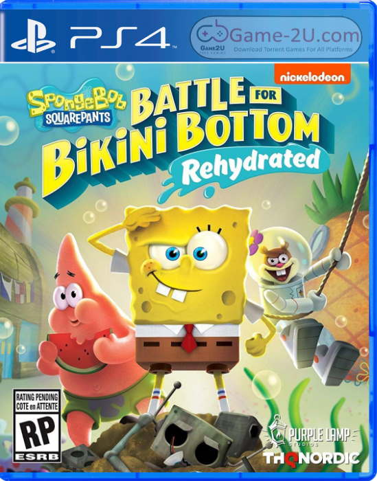 SpongeBob SquarePants Battle for Bikini Bottom - Rehydrated PS4 PKG