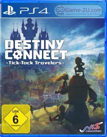 Destiny Connect Tick-Tock Travelers PS4 PKG