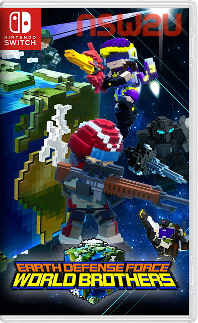 Earth Defense Force World Brothers Switch NSP XCI NSZ