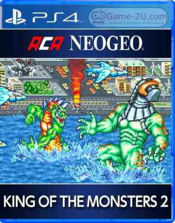 ACA NEOGEO KING OF THE MONSTERS 2 PS4 PKG