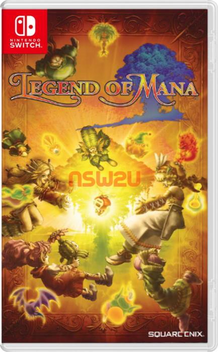 Legend of Mana Switch NSP XCI NSZ