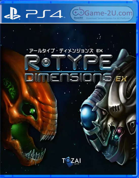 R-Type Dimensions EX PS4 PKG