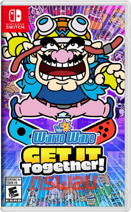 WarioWare Get It Together Switch NSP XCI NSZ