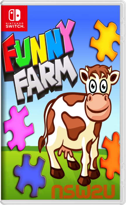 Funny Farm Animal Jigsaw Puzzle Game for Kids and Toddlers Switch NSP XCI NSZ