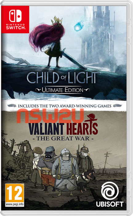 Child of Light Ultimate Edition + Valiant Hearts The Great War Switch NSP XCI NSZ