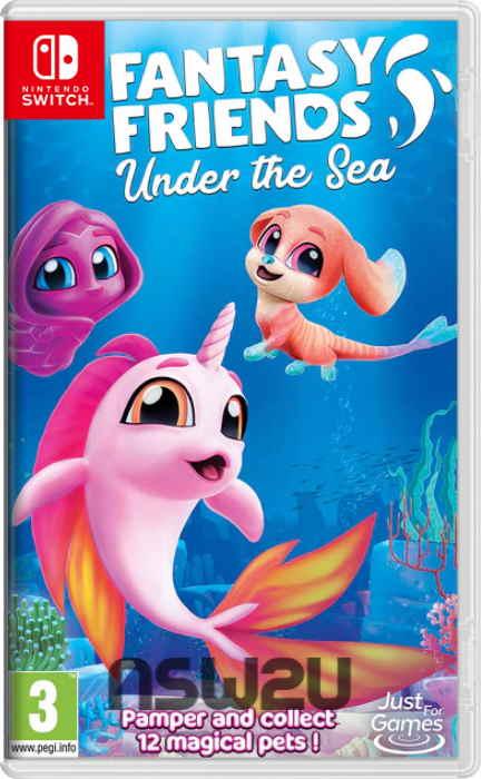 Fantasy Friends Under the Sea Switch NSP XCI NSZ