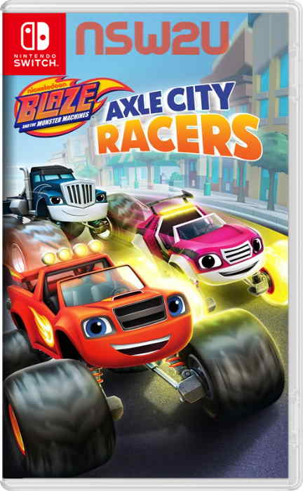 Blaze and the Monster Machines Axle City Racers Switch NSP XCI NSZ