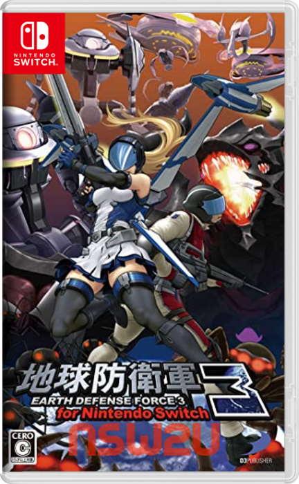 地球防衛軍3 EARTH DEFENSE FORCE 3 for Nintendo Switch NSP XCI NSZ