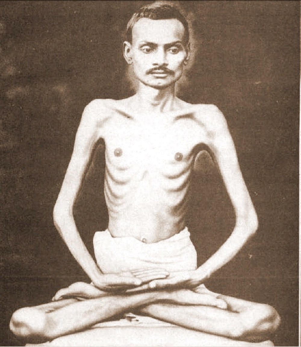 Shrimad Rajcandra, Jain and mentor to Mahatma Gandhi. Photo via Wiki Commons