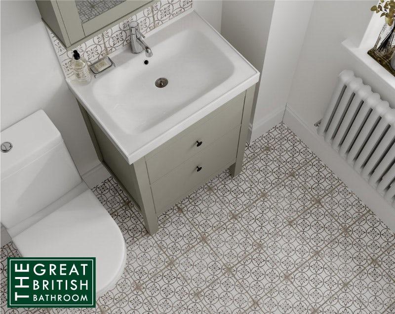10 small bathroom tile ideas