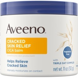 Aveeno Cracked Skin Relief Moisturizing CICA Balm with Oat,