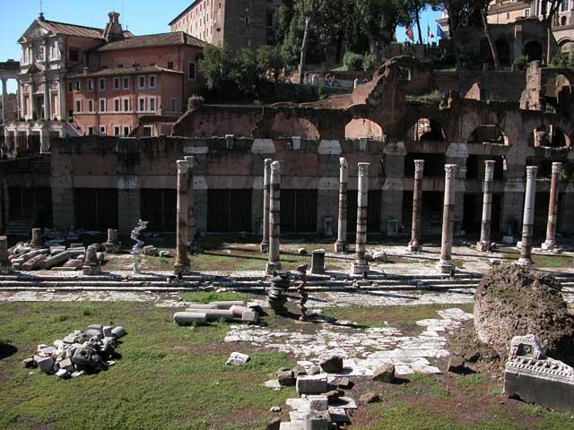 Foro Di Cesare Rome Visit Italy