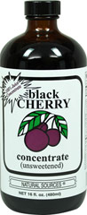 Black Cherry Concentrate Unsweetened <p><strong>From the Manufacturer's Label</strong>:<br /></p><ul><li>100% Juice Concentrate</li><li>Unsweetened</li></ul><p><strong>Certification of Quality</strong><br />Black Cherry Concentrate Unsweetened<br /><br />Manufactured by Natural Sources®<br /></p> 16 fl oz Liquid  $9.99