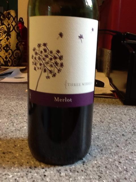 Three Wishes Merlot Wine Info