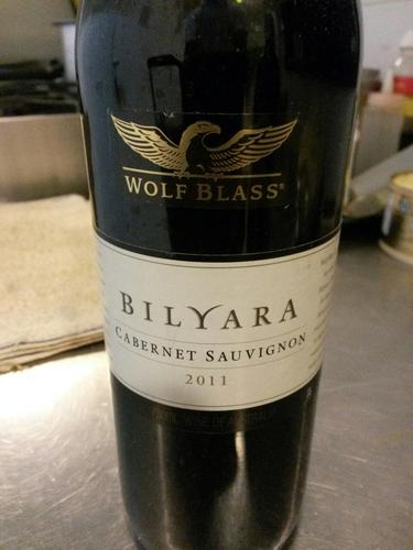 Wolf Blass Bilyara Cabernet Sauvignon 2011 Wine Info