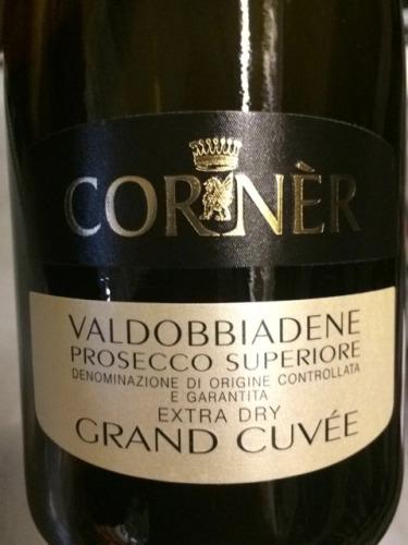 Corner Valdobbiadene Grand Cuv 233 E Superiore Prosecco Wine