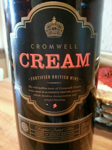 Cromwell Cream Fortified Wine Info