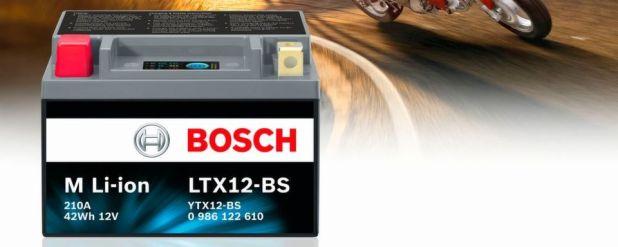 Die neue M Li-ion Motorrad-Batterie von Bosch wurde mit dem Innovation Award der Automechanika ausgezeichnet.