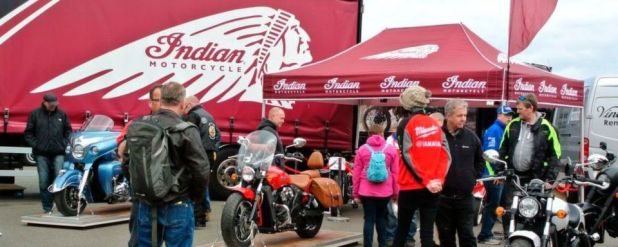In Deutschland, Frankreich und anderen Ländern können interessierte Biker an den Veranstaltungen teilnehmen.