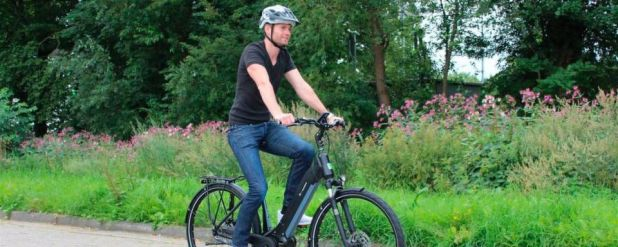 """Die e-Bike Manufaktur setzt im neuen Modell """"48er Revolution"""" auf den neuen E-Bike-Antrieb von Continental."""