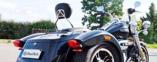 Das ESE-Soundsystem von Kesstech ist ab sofort auch für die beiden Harley-Trikes Freewheeler und Tri Glide Ultra lieferbar.