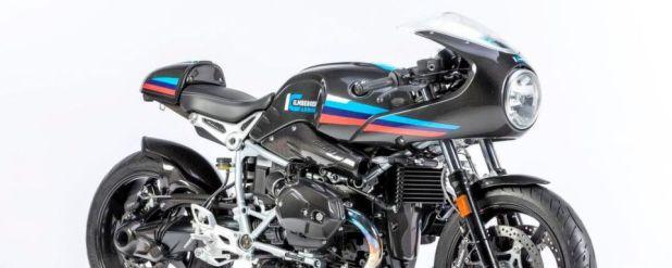 Ilmberger stellt Carbonparts für die BMW R Nine T Racer vor.