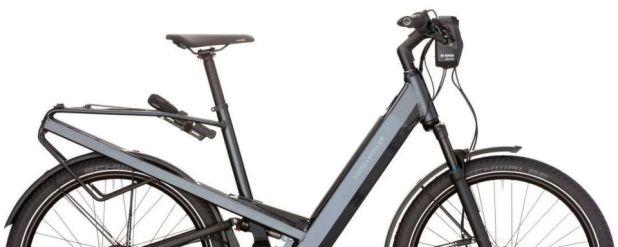 Das zum Modelljahr 2019 überarbeitete Homage bietet Riese & Müller optional mit Bosch-ABS an.