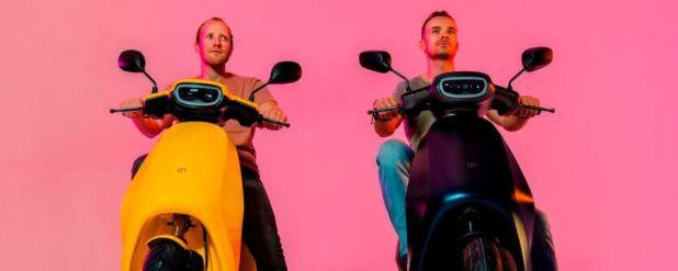 Die Gründer von Etergo (früher Bolt Mobility) Marijn Flipse (links) und Bart Jacobsz Rosier (rechts).